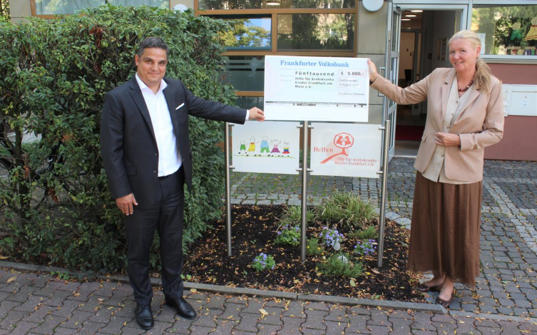 Frankfurter Volksbank spendet 5.000€