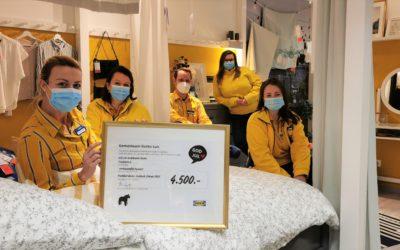 IKEA spendet 4.500€