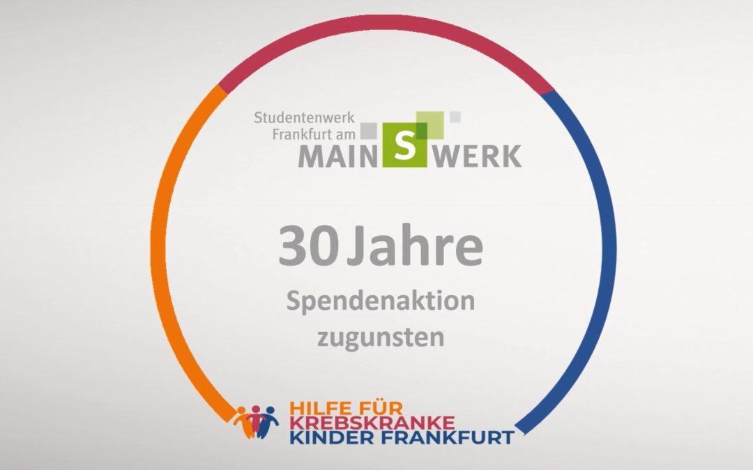 Spendenaktion Studentenwerk Frankfurt