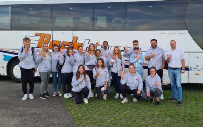 Jugendgruppe im Europa Park